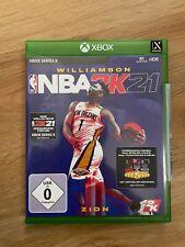 NBA 2K21 XBOX Series X Version, absolut neuwertig