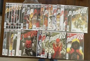Daredevil # 1 - 25 Chip Zdarsky + Annual Lot of 27 Marvel Comics