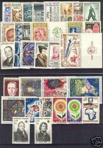 FRANCE ANNEE COMPLETE 1964 : 31 TIMBRES NEUFS xx TTB