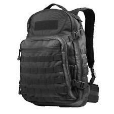 CONDOR 160-002 MOLLE Modular Venture Pack Laptop Nylon Backpack - BLACK