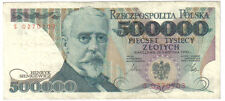 POLAND 500000 500.000 ZLOTYCH 1990 PICK 156 LOOK SCANS