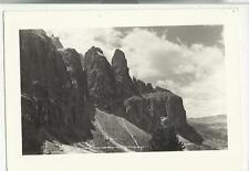 VECCHIA CARTOLINA 1950 GRUPPO DEL SELLA