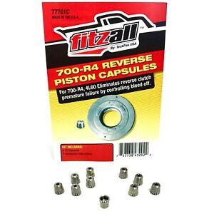 700R4 4L60 Transmission Reverse Piston Capsules Set of 10 Fitzall