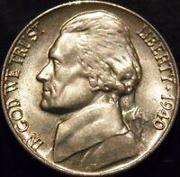 1940-P Jefferson Nickel Choice/Gem BU Uncirculated