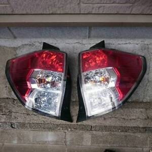 JDM 2012 Subaru Forester SH5 SHJ STI Tail Lights Taillights Lamps Set OEM