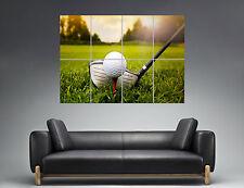 Club Golf Sport Mural  Wall Art Poster Grand format A0 Large Print