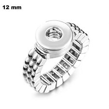 Fits Ginger Snap MINI GINGER SNAPS STRETCH RING JEWELRY Petite 12mm Button