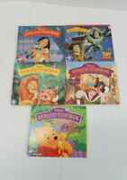 Lot of 5 Disney Animated Story Book CD-Rom Toy Story Pocahontas Lion King Pooh H