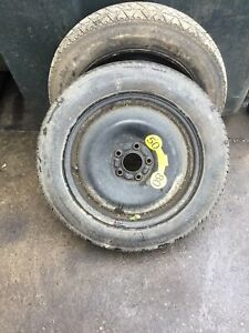 FORD MONDEO MK4 07-14 16 INCH SPACE SAVER WHEEL AND CONTINENTAL TYRE  125 90 16