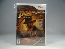 Indiana Jones and the Staff of Kings (Nintendo Wii, 2009) New Sealed !