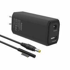 BND Microsoft Surface Pro Charger 65W Portable Charger for Microsoft Surface Pro