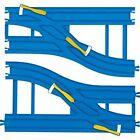 Takara Tomy Plarail R-15 Double Track Wide Turnout (2 pcs)