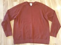 L.L. Bean Cotton Cashmere Blend Sweater pullover. Mens Size XL