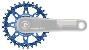 Fouriers CNC Single Chainring 30T-38T For Sram XX1 XO X9 GXP N/W Teeth Crank G01