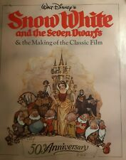 Walt Disney Snow White And The Seven Dwarfs Book And Making of The Classic Film