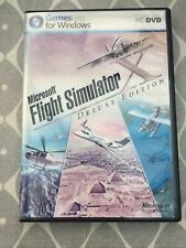 Microsoft Flight Simulator X-Deluxe Edition (PC, 2006)