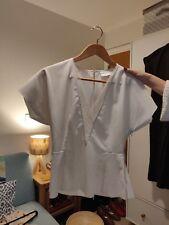 REISS white lace blouse size 8