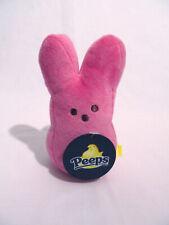 """New Peeps Plush 6"""" Pink Bunny Rabbit Stuffed Animal Easter"""