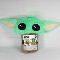 Disney Star Wars Mandalorian Baby Yoda The Child Soft Warm Hooded Blanket 30x50
