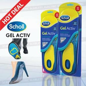 SCHOLL Insole Gel Activ Everyday Shock Absorption Insoles for men and women
