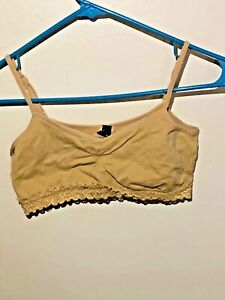 Anabel Connection Small Sports Bra One Size Fits All For Younger Women Lace Trim