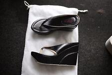 Summer Women Flip-flop Wedge High Heels Platform Beach Sandals Black Shoes SEXY