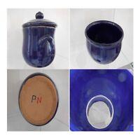 2 poteries céramique faïence fait main vintage art déco design XXe PN France N72