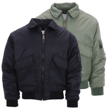 Bomber Militare MA-2 CWU Flight Jacket USA originale Fostex Garments colori vari