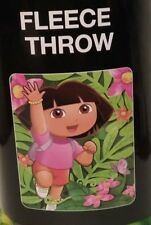 "DORA THE EXPLORER FLOWERS MULTI-COLOR  Fleece Blanket Throw BRAND NEW 40"" x 50"""