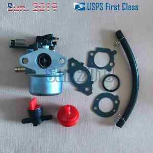 Carburetor Replacement for Ruixing model 216852 on Briggs and Stratton Engine