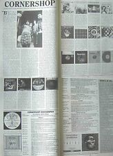 CORNERSHOP : 4-page INTERVIEW ARTICLE -1998-