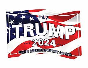 Trump 2024 Flag: Make America Great Again! Flag 3x5 Feet Banner