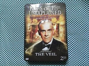 Tales Of The Unexplained From The Veil 2 Disc Set RARE Metal Box 💥Free Shipping