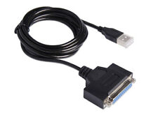 USB to Parallel Adapter, (25-pin female connector)