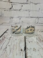 JACK DANIELS Whiskey Lowball Round Old Sour Mash Old No. 7 Set of 2