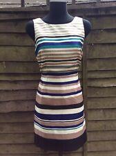 Monsoon Striped Dress Size 12
