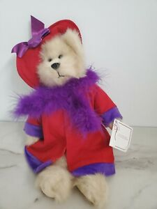 Nwt Ganz Heritage Collection Bear Red Hat MONIQUE