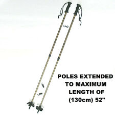 "CABELA'S OUTFITTER PRO SNOW SKI POLES ADJUSTABLE TO (130 cm) 52"" STORES AT 30"""