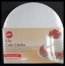 NEW! Wilton ***6 inch round CAKE CIRCLES*** 10 ct. NIP