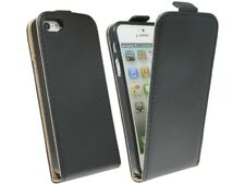 Étui Housse pour Téléphone Mobile Clapet de Protection Accessoires Noirs IPHONE
