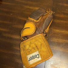 Cooper Hockey Vintage Goalie Catch Glove Left Hand Leather Mitt Professional