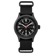 Reloj Timex Hombre Reloj Todd Snyder Militar Correa De Nylon Dial Negro TW2R78600JR