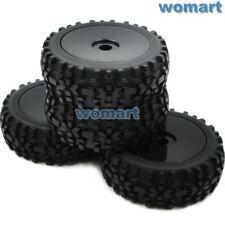 4pcs 1:8 RC Off Road Buggy Tires Wheels for Losi HPI XTR Badlands Car Upgrade