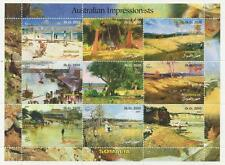 AUSTRALIAN IMPRESSIONISTS ARTISTS ART SOMALIA 2001 MNH STAMP SHEETLET