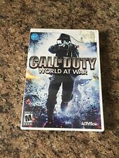 Call of Duty: World at WarNintendo Wii Cib Mint Disk Works W1