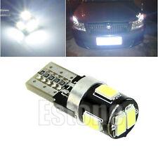 T10 194 168 6-LED 5630 SMD CANBUS Error FPC Free Car Auto Light Lamp Bulb White