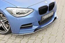 Rieger Frontspoilerlippe im Carbon-Look für BMW 1er F20/ F21 M-Paket