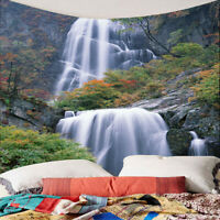 3D Waterproof Tapestry-Waterfall Pattern Indoor Outdoor Decoration 150x130cm
