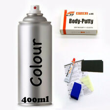 HOLDEN GMH TOUCH UP SPRAY PAINT HERON WHITE J073 + PUTTY KIT
