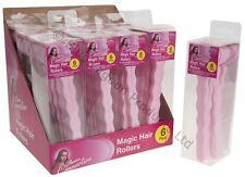 Magic Foam Hair Rollers Curler Bendy Twist Styling Tool Heat Free Easy Curls